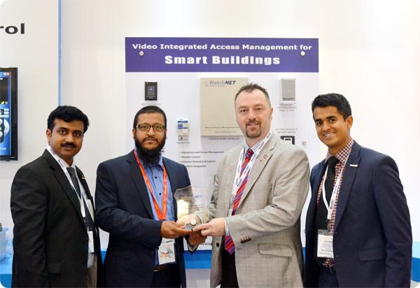 Hutaib InfoTech Solutions honored at Intersec, Dubai 2015