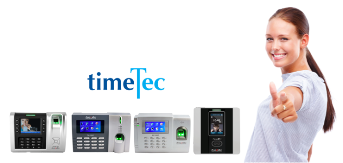 Pair biometrics time attendance time clocks with TimeTec for an efficient attendance management system
