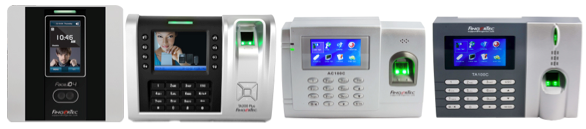 FingerTec biometrics time clocks that are compatible with TimeTec Cloud