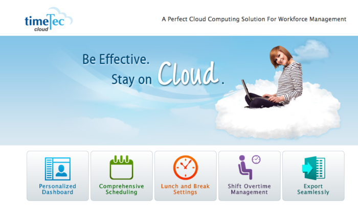 TimeTec Cloud getting ready for the future.